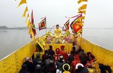 越南民间传统节日盛会的文化元素