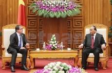 阮春福副总理会见新西兰外交部长