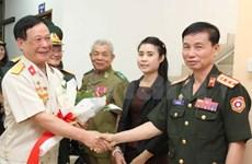 越南军医退伍军人代表团访问老挝