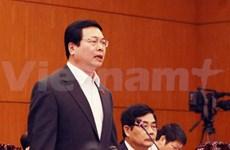 越南工商部长就国家管理责任解答国会代表质询