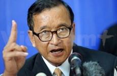 柬埔寨国会强烈指责反对派领袖的发言