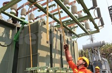 越南山罗省马江110千伏变电站项目竣工