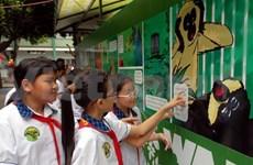 """越南起动""""青少年与保护野生动物""""竞赛活动"""