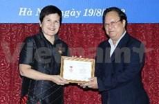 加拿大驻越南大使德勃拉女士——和平大使