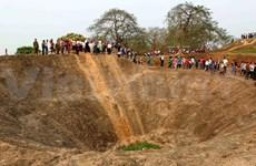 越南国内外游客纷纷前往奠边省参观游览