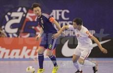 2014年亚洲五人制足球锦标赛正赛:泰国队和日本队会师四分之一决赛