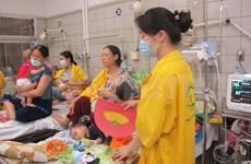 越南全国5月5日新增麻疹病55例