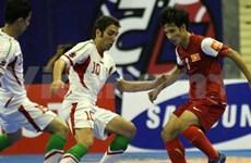 2014年亚洲五人制足球锦标赛正赛:伊朗队击败越南队晋级四强
