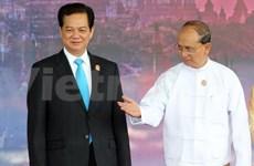 越南政府总理阮晋勇会见缅甸总统
