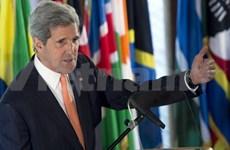 美国国务卿:中国在东海的好战行为特别引起担忧