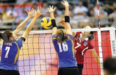 """第11次""""越南电视台杯""""国际女子排球公开赛在北宁省举行"""