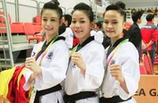 越南跆拳道队夺得亚3枚洲金牌