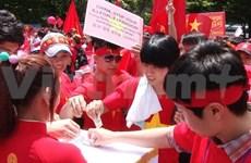 旅居韩国南方越南人社群心系家乡海洋与海岛