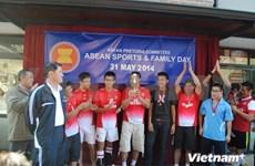 """2014年""""东盟体育与家庭日""""在南非举行"""
