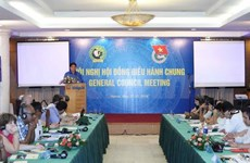 世界民主青年联盟理事会会议圆满结束