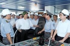 东盟最大最为现代化的越南渔检船即将投入使用