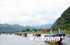 2014年前五个月广平省接待游客量150万人次