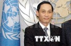 越南驻联合国大使就海洋石油981钻井平台问题回答国际记者提问