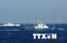 现场报道:中国渔船公然包围、阻拦越南渔船