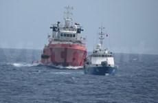 越通社记者现场纪实:中方护航船部署发生改变