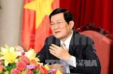 国家主席张晋创:对每一个越南人而言,国家独立主权是神圣且不可侵犯的