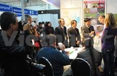 越南企业参加2014年第21届南非国际贸易博览会