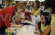 越南河内曾赴美国读书老留学生俱乐部正式亮相