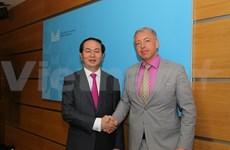 越南公安部长陈大光大将率团访问捷克