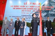 越南举办典礼庆祝日内瓦协议签订60周年
