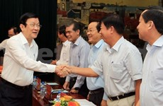 张晋创主席:海防市要充分利用有限资源发展经济