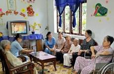 越南着重落实关于有功劳者的优惠政策