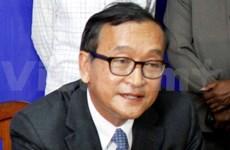 柬埔寨反对党领袖桑兰西获选为国会议员