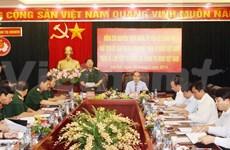 越南祖国阵线同越南人民军加强配合 携手建设强大的国防阵势
