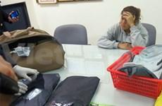 越南新山一国际机场海关人员查获3.97公斤可卡因走私案件