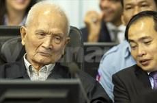 柬法院特别法庭第二次开庭审判前红色高棉前领导人