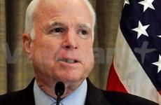 美国参议员约翰·麦凯恩访问越南