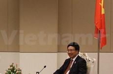 越南政府副总理范平明会见巴西驻越大使