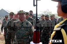 柬埔寨与美国承诺推进双边防务合作