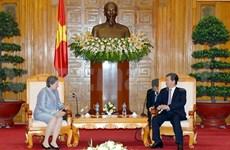 越南政府总理会见前来拜别的巴西驻越大使