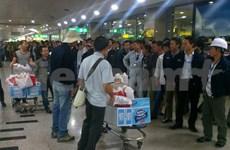 另有38名越南劳动者撤离利比亚安全回国
