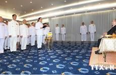 泰国过渡政府新内阁正式宣誓就职