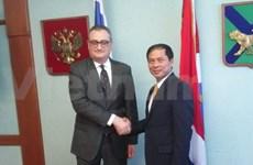 越南和俄罗斯举行外交副部长级政治磋商会议