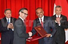 印度尼西亚与新加坡关系发展的新里程碑