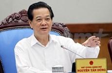 越南政府总理阮晋勇在计划与投资部指导工作
