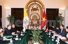 越南梵蒂冈混合工作小组第五轮会议发表联合声明