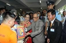 印度总统圆满结束访越之旅