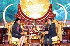 老挝与古巴扩大双方合作关系