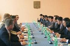 越南国会高级代表团访问捷克