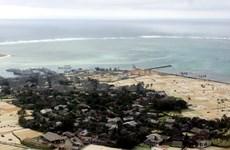 越南广义省协助李山岛县海上受损渔民