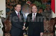 越南政府副总理会见来访的老挝人权问题代表团